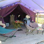 Location de mobil-home Aloa 2 chambre à Guérande : terrasse