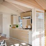Location de mobilhome loggia bay au camping en Loire Atlantique : cuisine