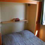 Location de mobil-home nemo à Guérande : chambre