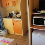 Location de mobil-home nemo à Guérande : cuisine
